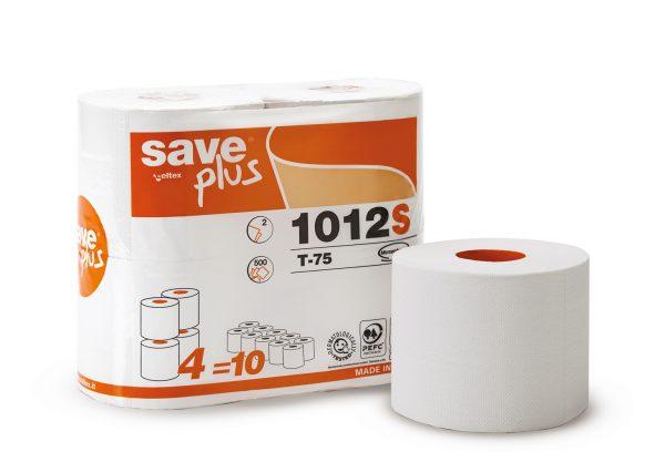 Carta igenica rotolo ovatta riciclata Save Plus Ecolabel 2 veli