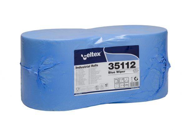 Bobina ovatta cellulosa Wiper Blue 2 veli