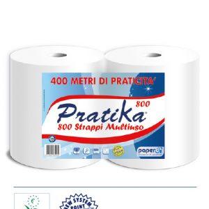 Rotoli carta multiuso Pratika 800strappi