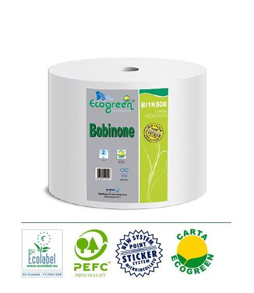Bobina ovatta Ecogreen 2 veli