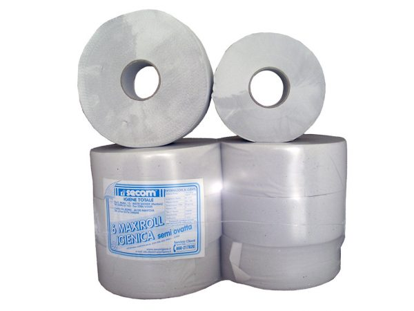 Carta igienica in ovatta riciclata doppio velo